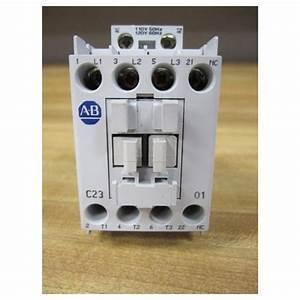 Allen Bradley 100-c23 01 Contactor 100-c23-01