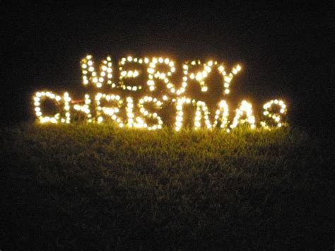 large lighted merry sign outdoor yard display ebay
