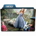 Icon Fantasy Folder Icons Genres Ico Limav