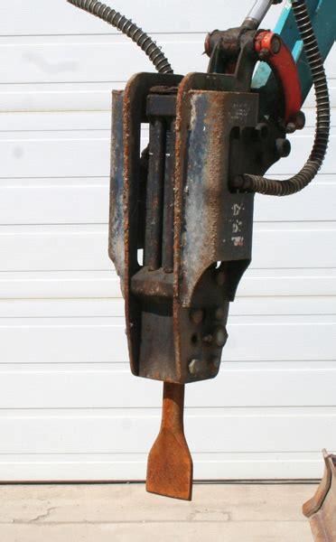 kubota mini excavator hydraulic jack hammer diversified electric