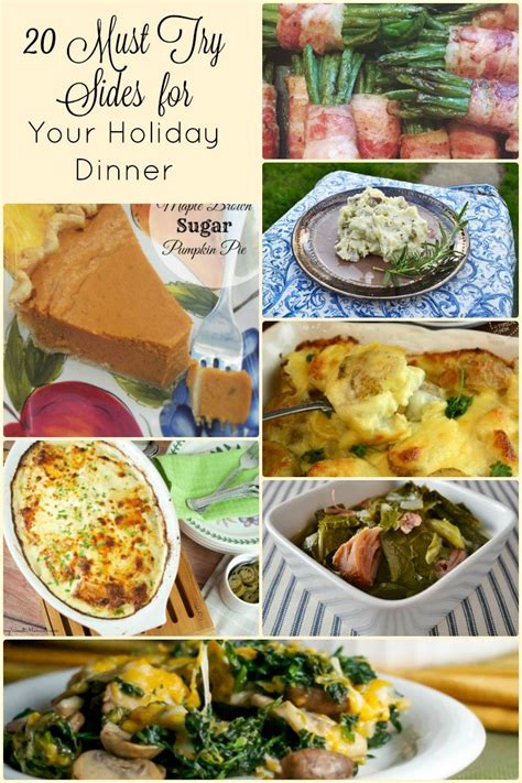 christmas dinner side dishes 20 side dish recipes for an amazing holiday dinner