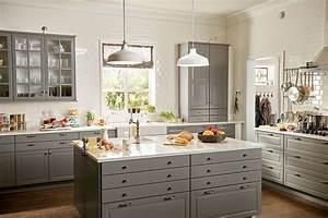 Cuisine Blanche Ikea : cuisine ikea bodbyn blanc home pinterest cuisine ~ Preciouscoupons.com Idées de Décoration