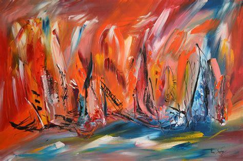 tableau peinture moderne abstraite tableau contemporain abstrait