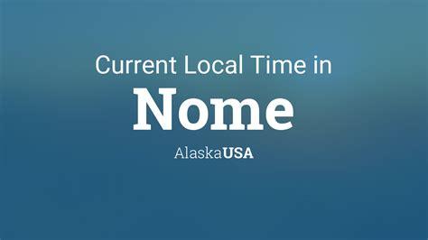 current local time  nome alaska usa