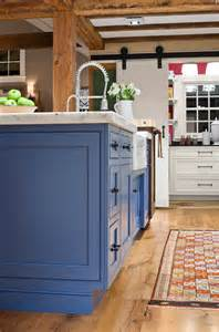 paint kitchen island painted kitchen island ideas the island in this kitchen is painted quot benjamin blue heron