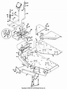 Gravely 37999 60 U0026quot  Deck 4 Wheel Tractor Parts Diagram For