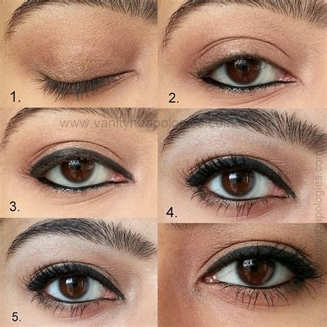 The Gallery For Natural Makeup For Brown Eyes Step By Step