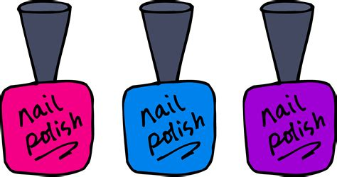 Pencil And In Color Nail Clipart