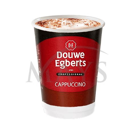 For more than 265 years, jde has been inspired by the belief that it's amazing what can happen over a cup of coffee or tea. Douwe Egberts Cappuccino 10 Cups