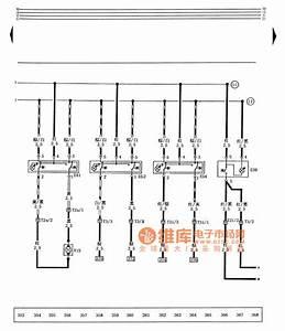 Santana 2000 Gsi Type Car Electric Circuit Diagram Window