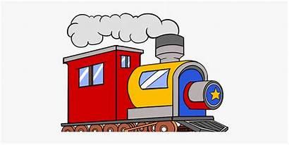 Train Thomas Engine Animated Clipart Tank Drawing