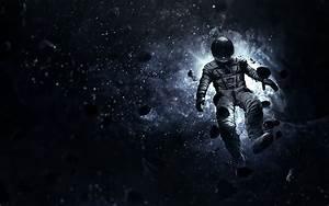 Astronaut Space Artwork Asteroids Wallpaper free desktop ...