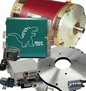 144v 1000a Dc Motor Custom Ev Conversion Kit Lithium Or