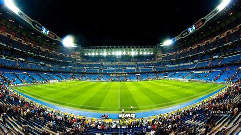 Santiago Bernabeu Real Madrid Stadium Wallpaper Wallpaper ...