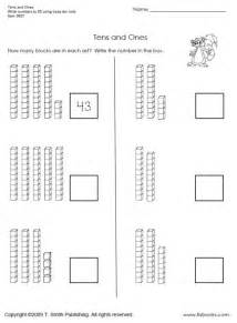 tens and ones worksheet 1 tlsbooks - Counting Tens And Ones Worksheets