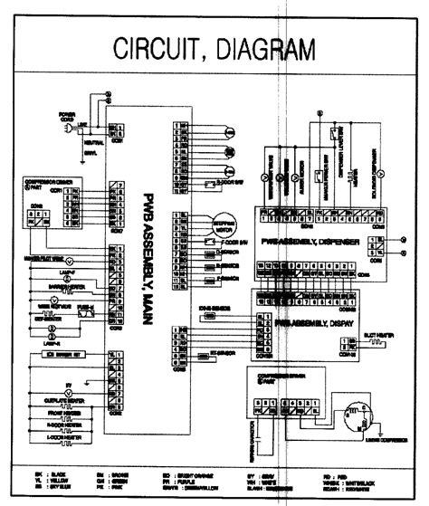 lg refrigerator schematics automotive block diagram