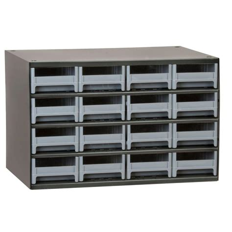 Akro Mils Steel Storage Cabinet by Akro Mils 16 Drawer Small Parts Steel Cabinet 19416 The