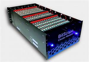 BitScope Raspberry Pi Cluster for 3000 Cores in 30U