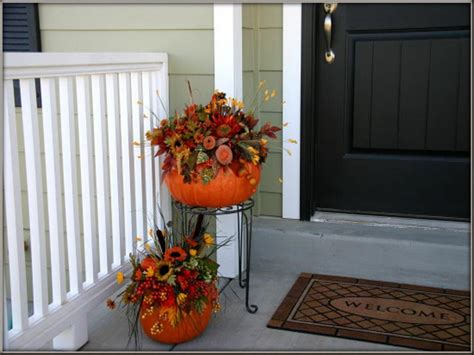 simple outdoor decorating ideas bloombety simple autumn porch decorating ideas autumn porch decorating ideas