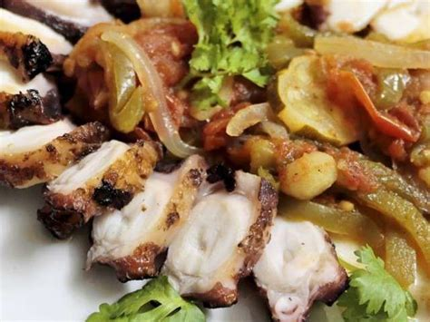 poulpe cuisine recettes de poulpes de cuisine d 39 afrique