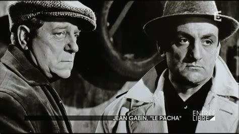jean gabin on jean gabin 171 le pacha 187 youtube
