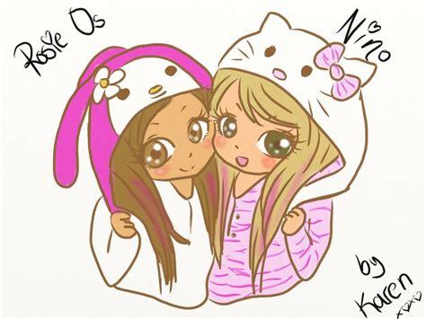 cute drawings     macarena  rosie