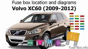 Fuse Box Location And Diagrams  Volvo Xc60  2009-2012