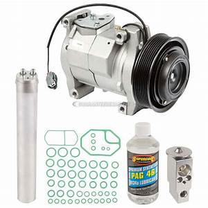 2007 Honda Accord A  C Compressor And Components Kit 2 4l Engine