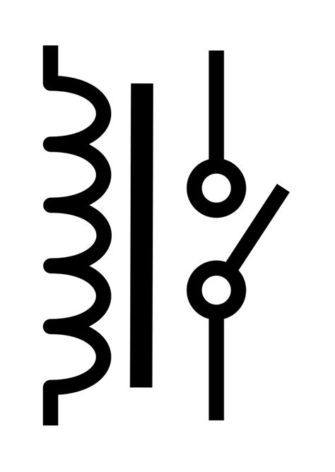 file spst no relay symbol svg wikimedia commons