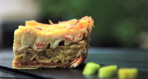lasagnes au saumon  poireaux la recette gourmande