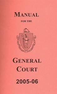 State Library Of Massachusetts  Manual For The General