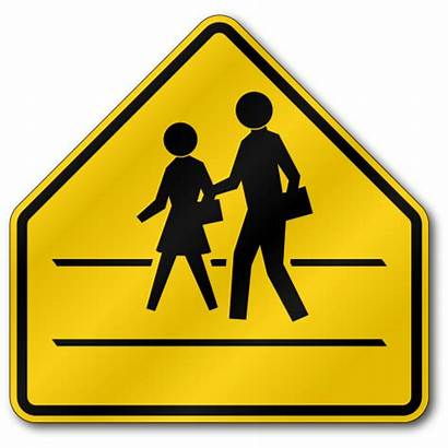Crossing Sign Zone Traffic S2 Signs Symbol