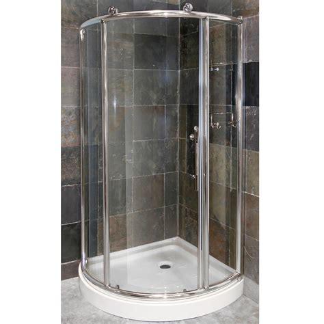 corner shower doors pier 1 4 framed corner shower door combo