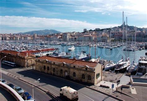 Pavillon Am Alten Hafen Marseille by Alten Hafen In Marseille Frankreich Stockfoto Colourbox