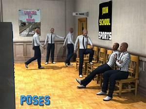 After School Detention   3D Models for Poser and Daz Studio