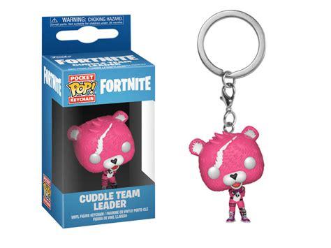 pocket pop keychain fortnite cuddle team leader