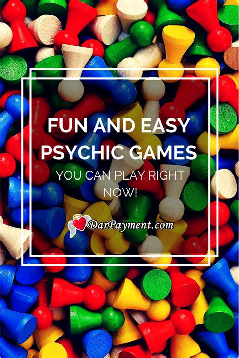 Fun And Easy Psychic Games  Dar Payment