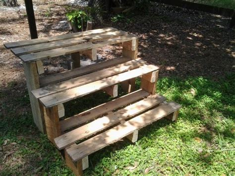 Pallet Plant Stand...