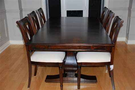 Real Solid Wood Dining Room Tables