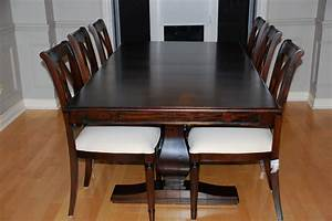 solid wood dining room furniture With modern wood dining room table