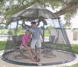 patio umbrella mosquito nets