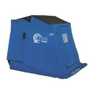 ht quick hut all in 1 one man ice fishing shelter unit w