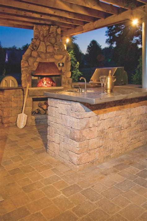 outdoor pizza oven fireplace options  ideas hgtv