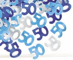 Deko 50er Party : 50 geburtstag deko konfetti blau ~ Sanjose-hotels-ca.com Haus und Dekorationen