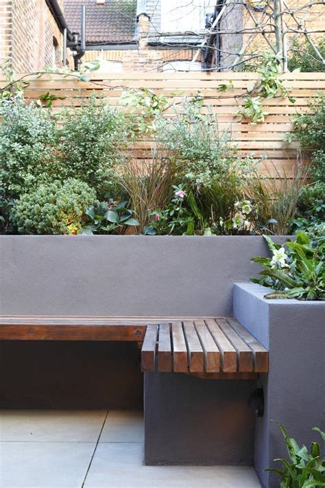 25 best ideas about concrete garden on modern