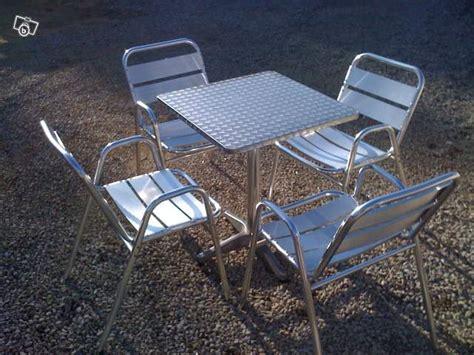 table et chaise de terrasse professionnel lot de tables et chaises de terrasse occasion