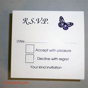Blank rsvp wedding cards free card design ideas for Wording for wedding invitations with rsvp