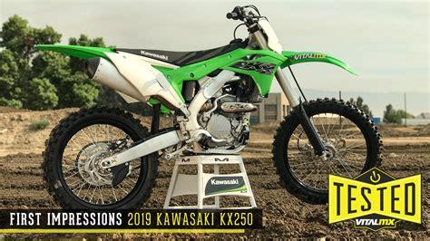 Kawasaki 250 2019 Image by 2019 Kawasaki Kx250 Reviews Comparisons Specs