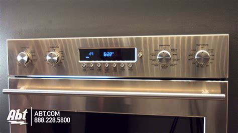 ge monogram  stainless steel built  electronic convection double wall oven zetshss overview