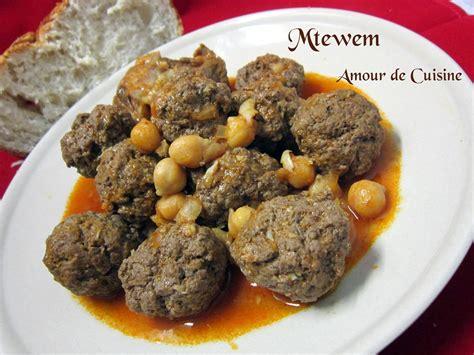 les recettes de cuisine mtewem cuisine algerienne المثوم amour de cuisine